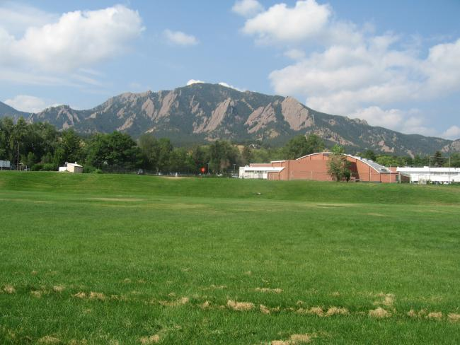 Rockies from the U of Colorado