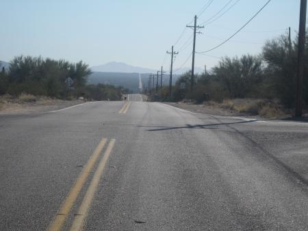 S towards Saguaro E