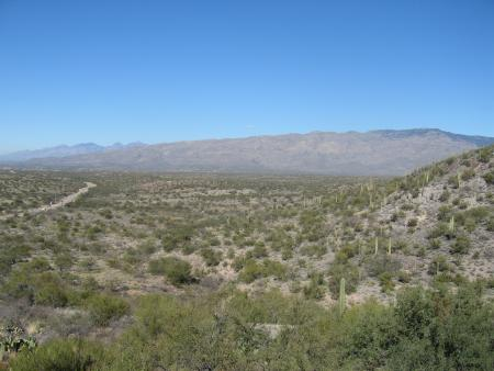 Catalina Mtns from Colossal Cave