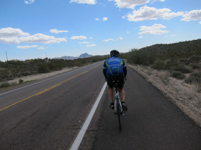Larry pulling back to Fountain Hills