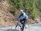 Chris having fun riding up Devil039s Kitchen